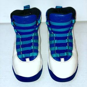 Air Jordan 10s City Pack Charlotte Size 4Y